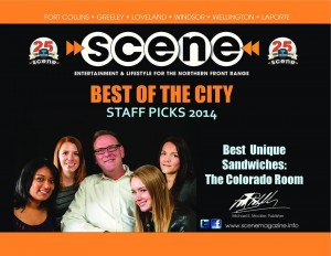 Scene - Best of the City 2014 - Best Unique Sandwiches
